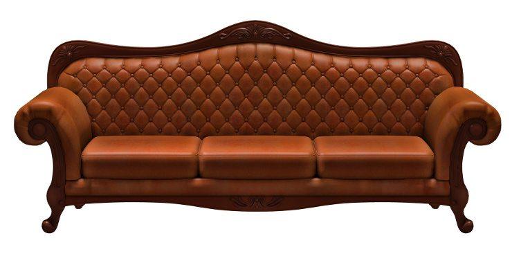 ein hauch von luxus im wohnzimmer durch ein attraktives ledersofa. Black Bedroom Furniture Sets. Home Design Ideas