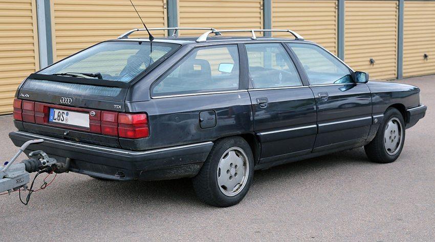 Audi 100 Avant TDI 1990 (Bild: Mr.choppers, Wikimedia, CC)