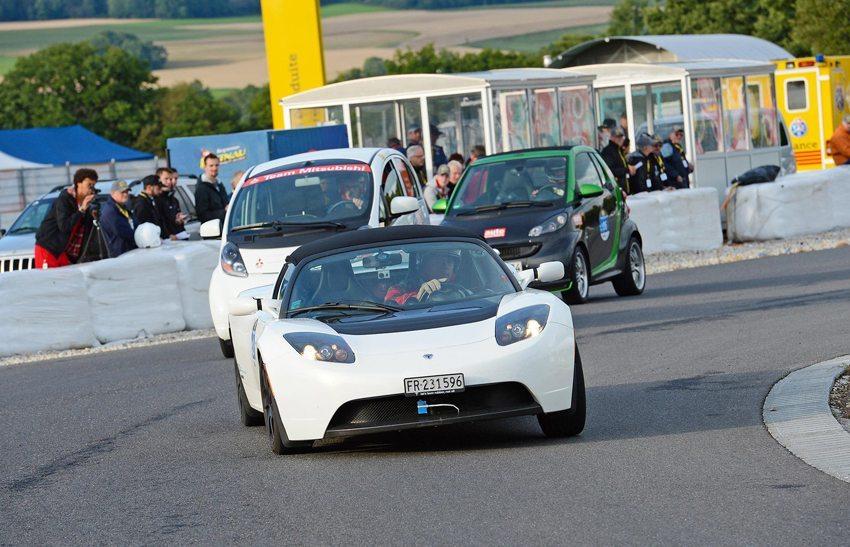 Das Modell S von Tesla wurde zum Sieger vom 1. Swiss Energy Grand Prix 2014 (Bild: nyou ag)