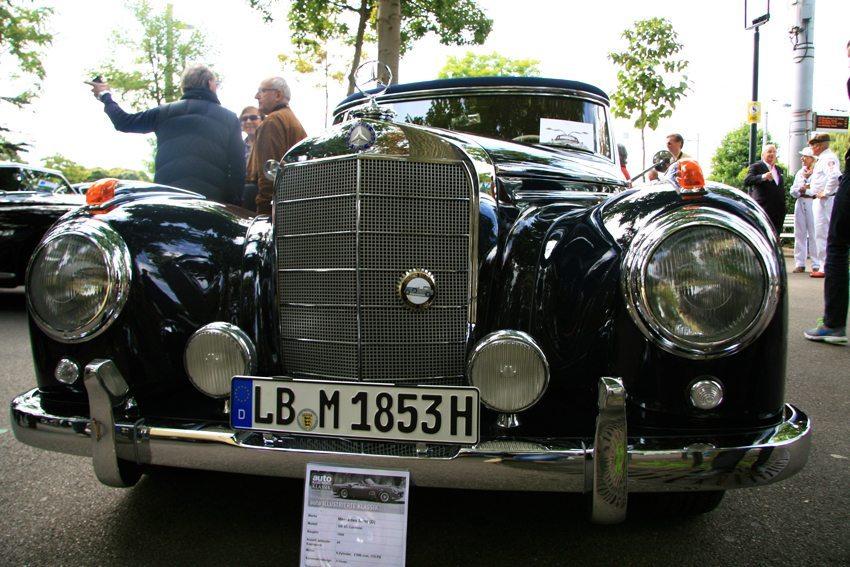 1956 Mercedes-Benz 300 Sc Coupé (Bild: Zürich Classic Car Award)