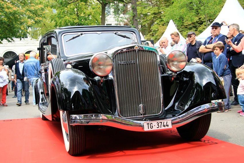 Maybach SW 38 aus dem Jahr 1937 (Bild: Zürich Classic Car Award)
