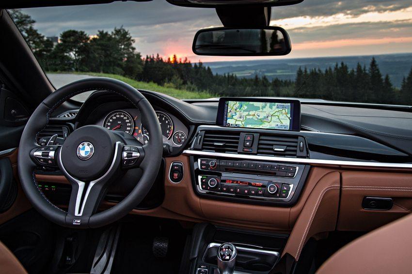 BMW M4 Cabrio – Innenraum (Bild: BMW AG, München, Deutschland)