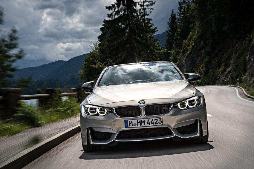 BMW M4 Cabrio – Frontansicht (Bild: BMW AG, München, Deutschland)