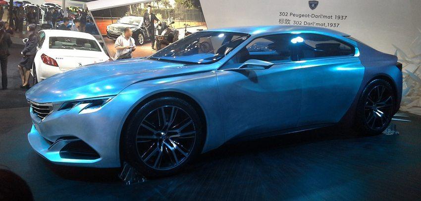 Peugeot Exalt Concept Car 2014 (Bild: Navigator84, Wikimedia, CC)