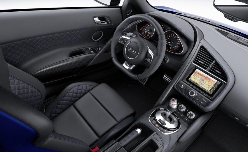 Audi R8 LMX – Innenraumansicht (Bild: Audi AG)