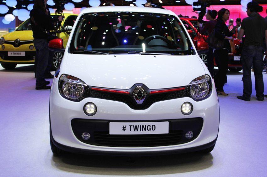 Der neue Renaul Twingo 2014 – Frontansicht (Bild: Zavatskiy Aleksandr / Shutterstock.com)