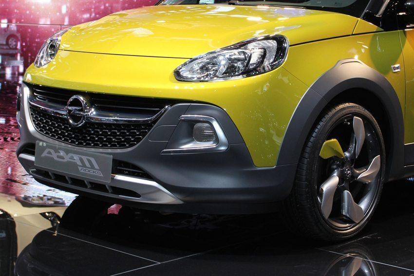 Opel Adam Rocks 2014 – Frontansicht (Bild: Zavatskiy Aleksandr / Shutterstock.com)