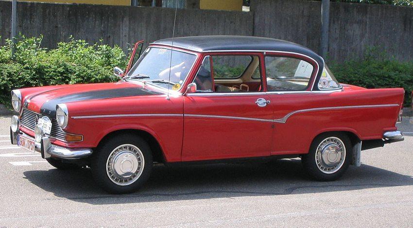 Das Model Borgward Arabella erwies sich als wirtschaftlicher Flop. (Bild: Flominator, Wikimedia, GNU)