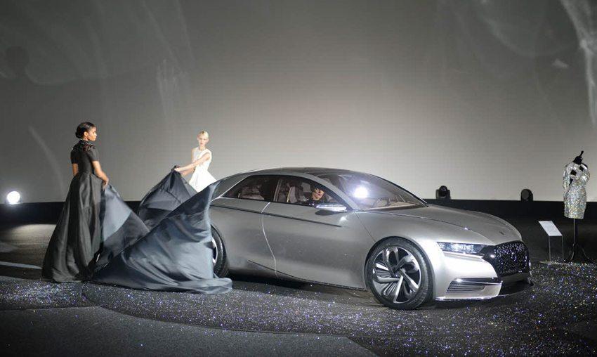 Designstudie des Citroën Divine DS (Bild: AUTOMOBILES CITROËN)