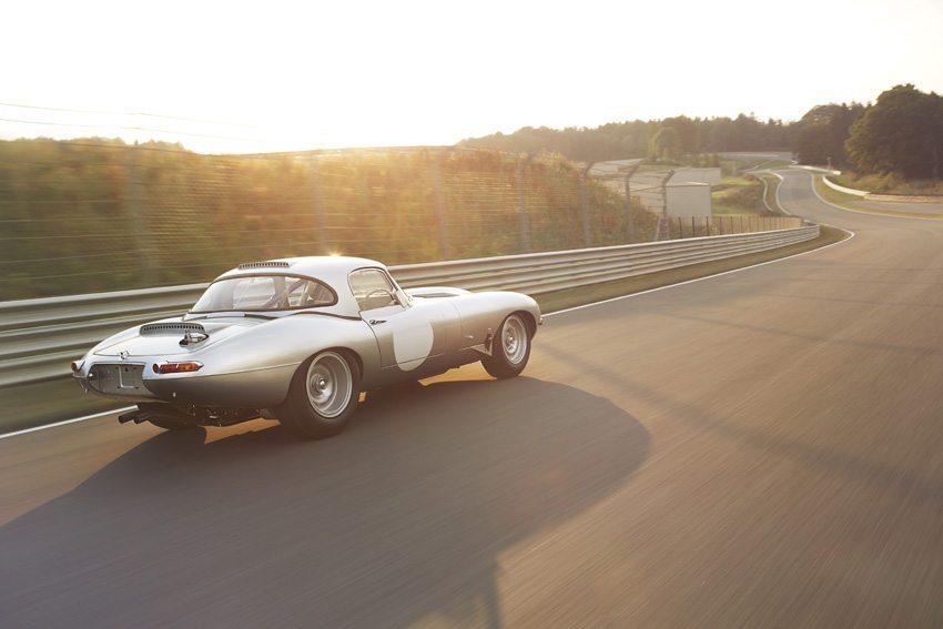 Jaguar Lightweight E-Type wird wieder an Oldtimer-Rennen teilnehmen. (Bild: Jaguar Land Rover Limited)
