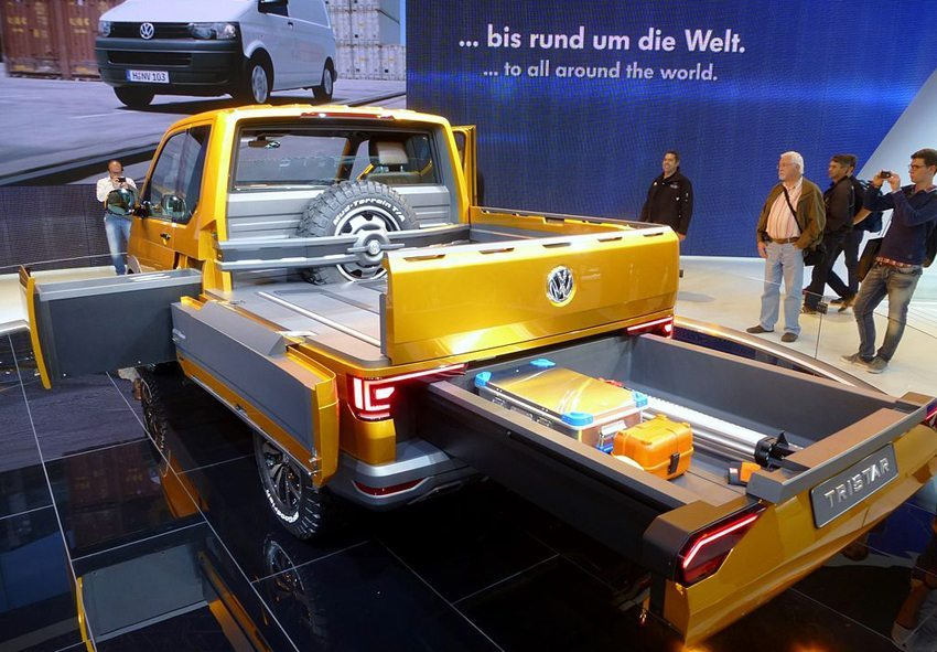 Der neue VW Tristar – das Schweizer Taschenmesser auf vier Rädern (Bild: Thomas doerfer, Wikimedia, CC)