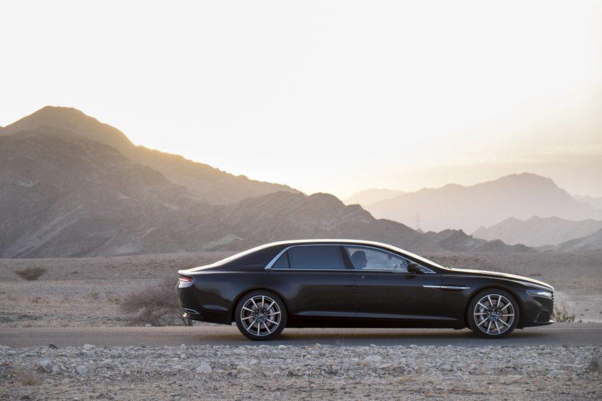 Derzeit soll sich ein neuer Aston Martin Lagonda auf Probefahrt im Oman befinden. (Bild: Aston Martin)