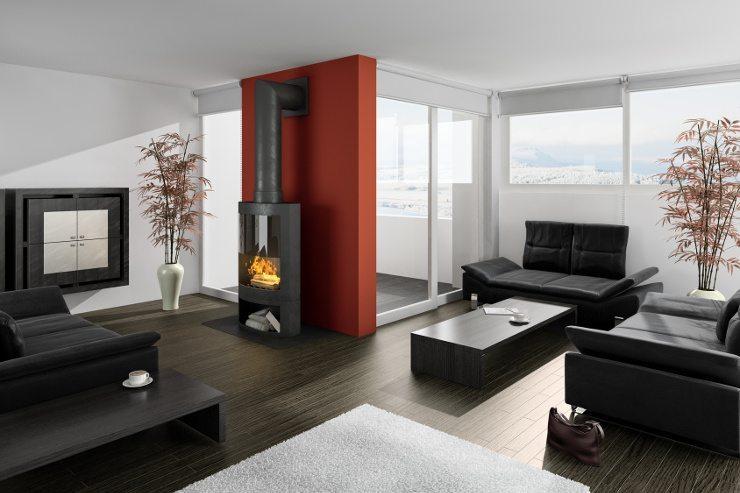Ein Ledersofa ist ein exquisiter Blickfang für Ihr Wohnzimmer. (Bild: © arsdigital - fotolia.com)