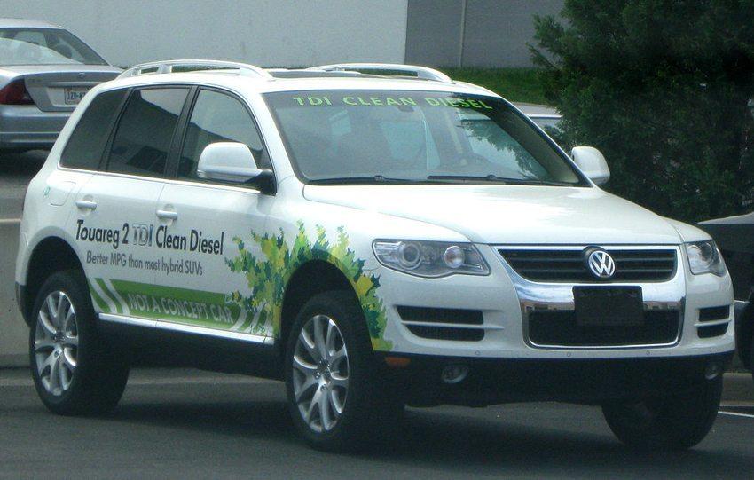 VW Touareg fotografiert in Chantilly, Virginia, USA (Bild: IFCAR, Wikimedia)