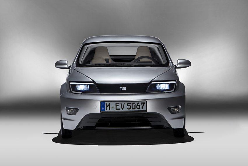 E-Car Visio.M – Frontansicht (Bild: TUM Technische Universität München)