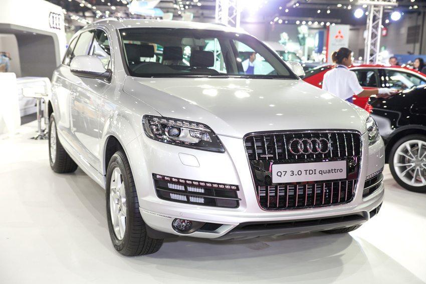Audi Q7 2014(Bild: Amnarj Tanongrattana / Shutterstock.com)