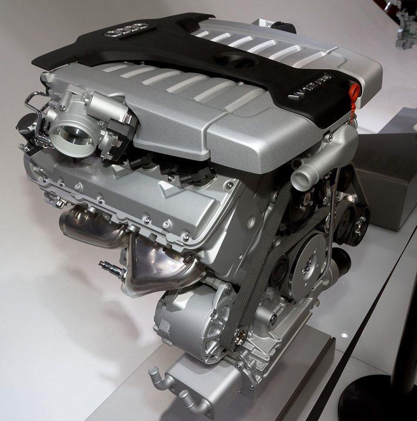 Audi W12 6.3 FSI Motor (Bild: Morio, Wikimedia, CC)