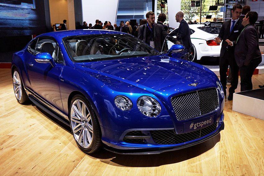 Bentley GT Speed (Bild: Thesupermat, Wikimedia, CC)