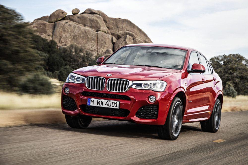 Der X4 ist noch ein Stück dynamischer als der X3. (Bild: © BMW Presse)