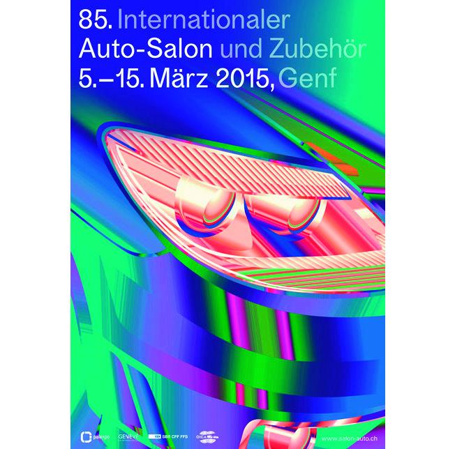 Der 85. Genfer Autosalon – Veranstaltungsplakat (Bild: http://www.salon-auto.ch/de/)