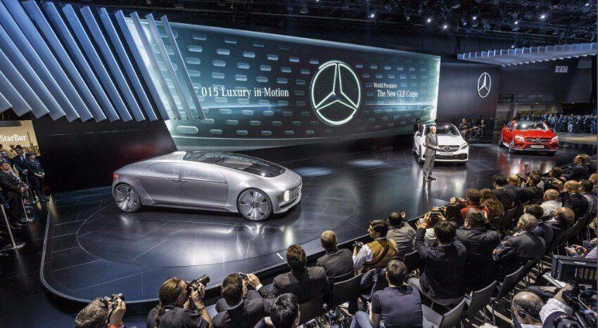 Mercedes-Benz Pressekonferenz auf der NAIAS 2015, Detroit (Bild: © Mercedes-Benz)