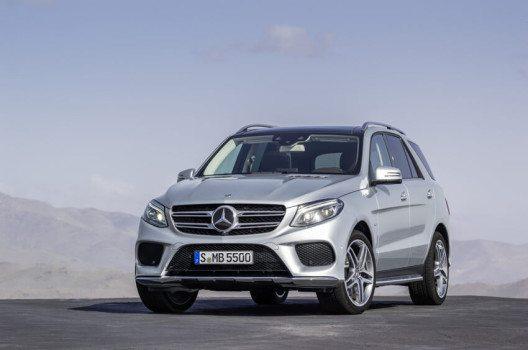 Mercedes-Benz GLE 500 e 2015 (Bild: © Daimler AG)