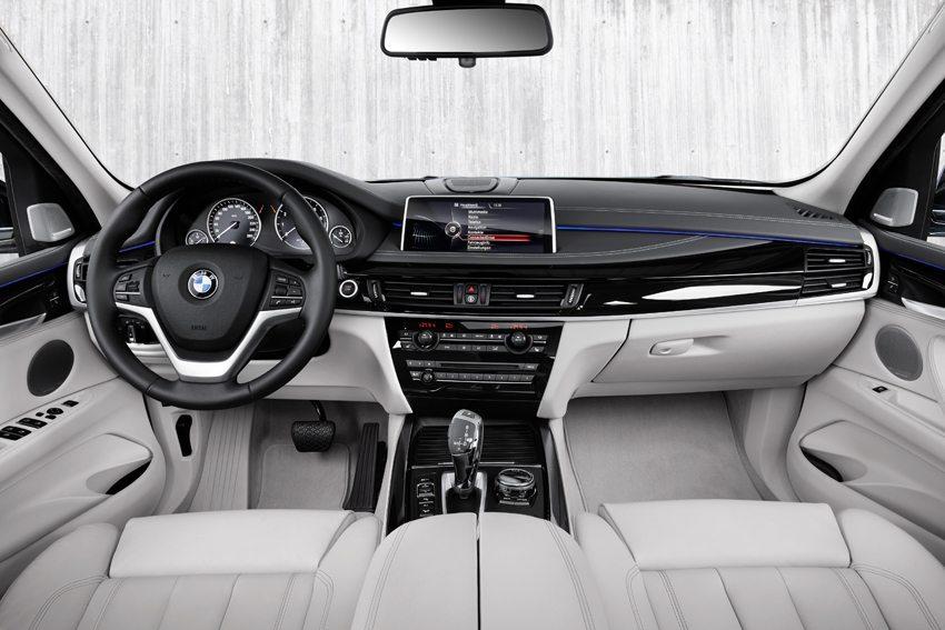 Der neue BMW X5 xDrive40e – Innenansicht. (Bild: © BMW Group)