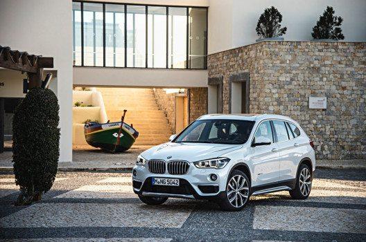 Der neue BMW X1 – Frontansicht (Bild: © BMW Group)