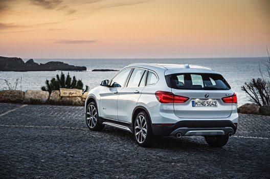 Der neue BMW X1 – Heckansicht (Bild: © BMW Group)