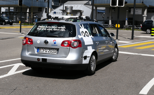 Swisscom bringt selbstfahrendes Auto auf Schweizer Strassen. (Bild: © Swisscom AG)