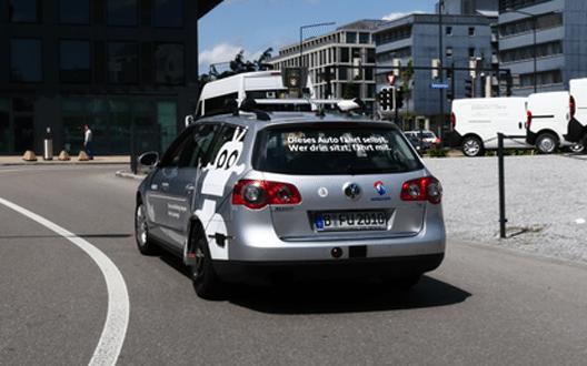 Die Technik zum automatisierten Fahren ist bereits sehr fortgeschritten. (Bild: © Swisscom AG)