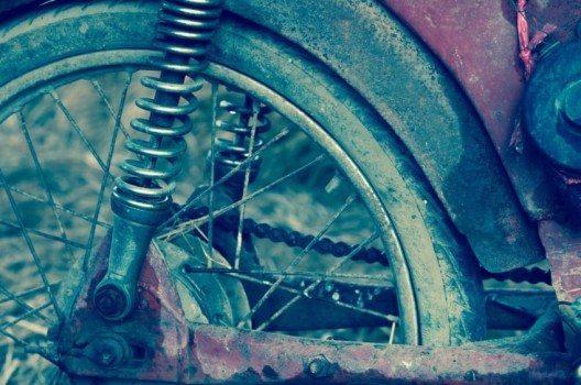 Bei diesen Bikes darf nichts glänzen, Rost ist jederzeit willkommen (Bild: © TZIDO SUN - shutterstock.com)