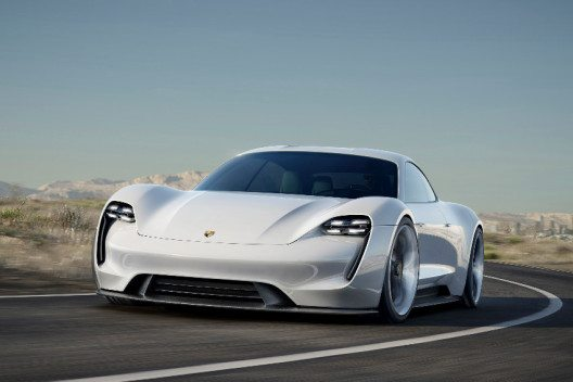 Der Porsche Mission E – Concept Study. (Bild: © Dr. Ing. h.c. F. Porsche AG)