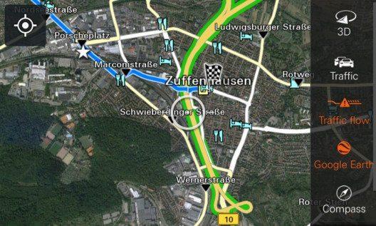 Real Time Traffic Information (Bild: © Porsche Schweiz)
