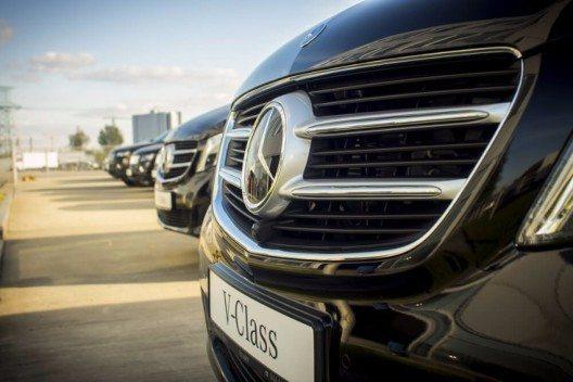Die V-Klasse hat sich seit Marktstart zu einem echten Erfolgsmodell entwickelt. (Bild: © Matushchak Anton - shutterstock.com)