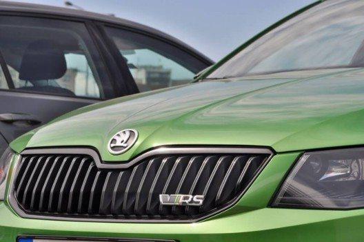 Der 2013 eingeführte ŠKODA Octavia RS der dritten Generation begeistert die Kunden. (Bild: © Tadeas - shutterstock.com)
