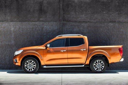 Nissan präsentiert seinen brandneuen Pick-up NP300 Navara.