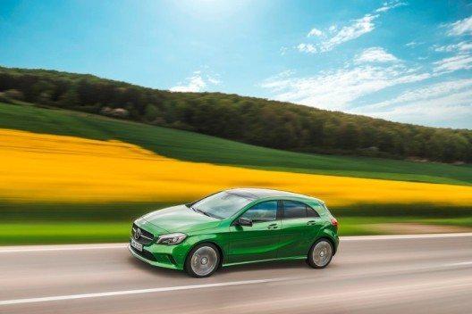 Mit der neuen Generation der A-Klasse setzt Mercedes die Erfolgsgeschichte der Kompaktwagen fort. (Bild: © Mercedes-Benz Österreich GmbH)