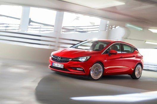 Der neue Opel Astra steht in den Startlöchern.