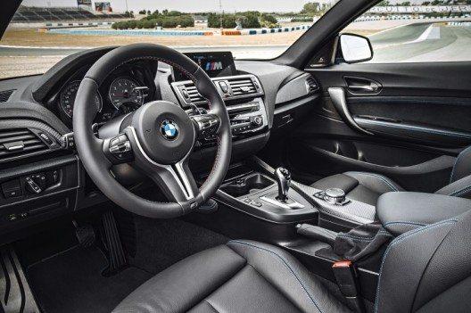 Der BMW M typische Charakter kommt ebenso bei der Gestaltung des Interieurs zum Ausdruck.