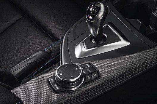 Optional steht das 7-Gang M Doppelkupplungsgetriebe (M DKG) mit Drivelogic zur Wahl.