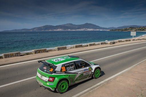 Das ŠKODA Werksduo Esapekka Lappi (FIN)/Janne Ferm (FIN) geht als Tabellenzweiter der WRC 2 in die vorletzte Saison-Rallye