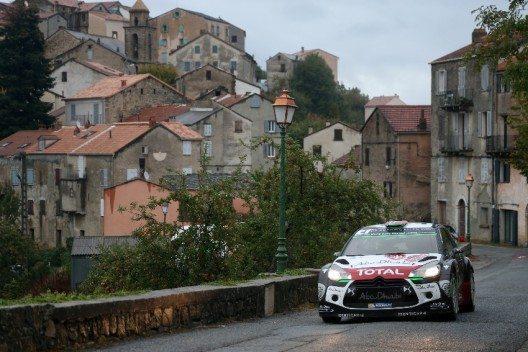 Mads Østberg bei der ADAC Rallye Frankreich