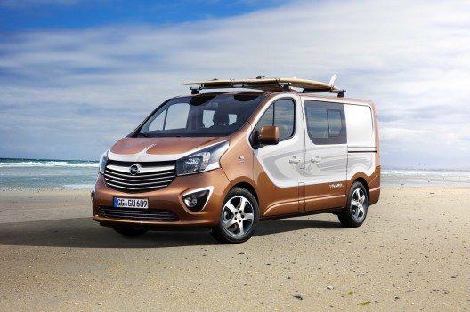 Opel Vivaro Surf Concept: Lifestyle-Van für sportliche Einsätze.