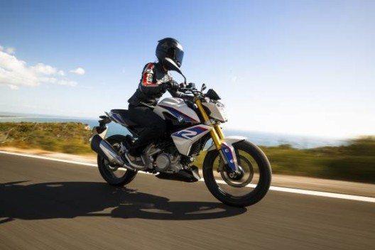 Die neue G 310 R bietet eine betont relaxte Sitzposition für entspanntes, stressfreies und damit unbeschwertes Motorradfahren.