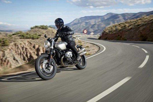 Der neue Scrambler von BMW verfügt über Leichtmetall-Gussräder.