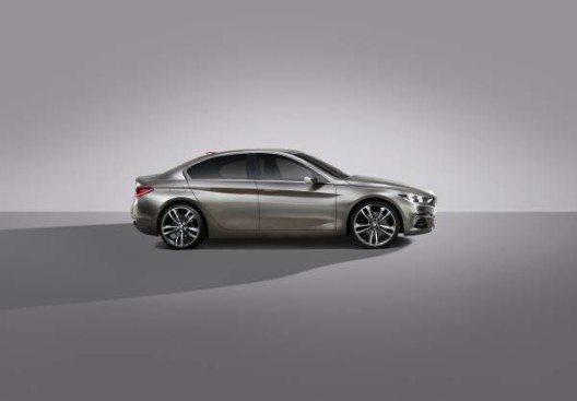Der BMW Concept Compact Sedan