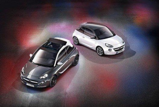 Die neuen Opel Adam Modelle Swing und SwingTOP.
