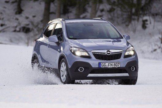Der Opel Mokka ist der perfekte Begleiter für alle Outdoor-Aktivitäten zu jeder Jahreszeit.