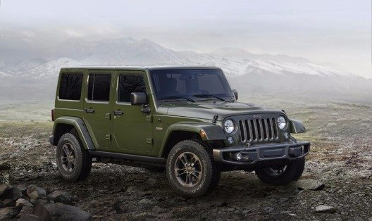 Die 75th Anniversary Special Edition des Jeep Wrangler.